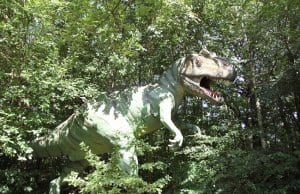 Allosaurus image in dense foliagePhoto by: Angela Marie Henriettehttps://creativecommons.org/licenses/by/2.0/