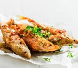 Tasty Roasted Smelt Fish Photo By: (C) Shaiith Www.fotosearch.com
