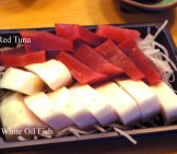 Balamut Sashimi - The White Fish Is Oil Fish, The Red Is Tuna Photo By: Kamakura Cc By-Sa Https://Creativecommons.org/Licenses/By-Sa/4.0